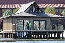 Polynesian Resort Map Photos The Lagoon Villas Under Construction At Disney U0027s