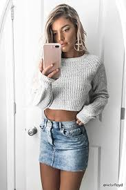 cropped mock neck sweater forever21