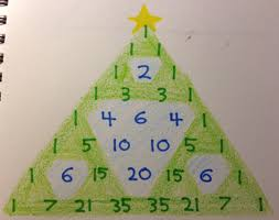 the 12 days of pascal u0027s triangular christmas