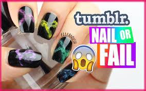 ombre nail design tumblr tumblr nail or fail smoke nails youtube