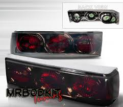 93 mustang lx tail lights 87 93 mustang headlights 1 pc design neo style black pair