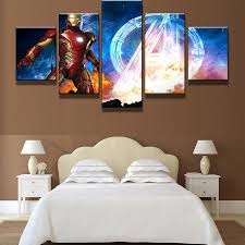 compare prices iron man wall frame online shopping buy low pcs set framed printed the avengers iron man poster pictures wall art canvas