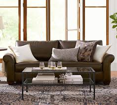 sofas center potteryn sofa say hello tons performance fabric