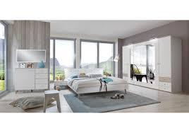 Schlafzimmer Mit Metallbett Schlafzimmer Alpinweiss Mit Absetzung In Eiche Sägerau Woody 132