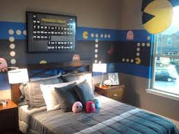 pacman themed bedroom is perfect for any geek or nerd judging by