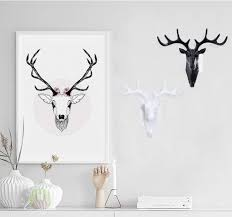 deer head home decor home decor modern resin horse elephant deer head wall hanging