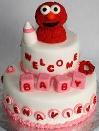 baby elmo tiered baby shower cake jenavieve jeanne flickr