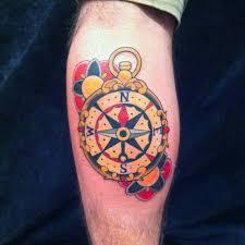 35 feminine compass tattoos