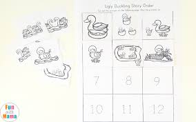 the ugly duckling printables pack fun with mama