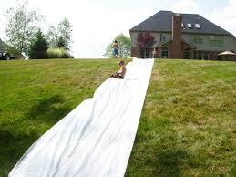 Backyard Slip N Slide Hope Studios The World U0027s Biggest Slip And Slide Tutorial
