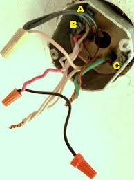 Wiring A Ceiling Light Fixture White Black Wire Ceiling Light Www Energywarden Net