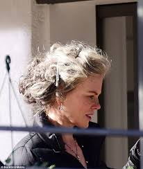 best hairstyles for a 48 year old nicole kidman spotted on the set of crime drama top of the lake