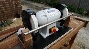Bench Grinder Knife Sharpener Build Built Bench Grinder Tool Rest Plans Diy Pdf Simple Corner Tv