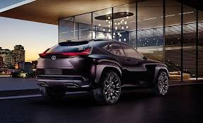 lexus suv concept official photos and info lexus ux concept car and driver