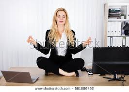 Yoga At The Office Desk Office Yoga Stock Images Royalty Free Images U0026 Vectors Shutterstock