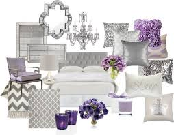 Lavender Home Decor Grey And Dark Lavender Bedroom
