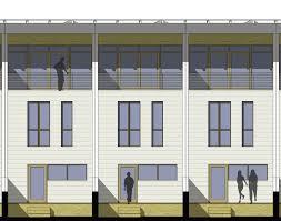 Row Houses Elevation - row house u2014 autotroph