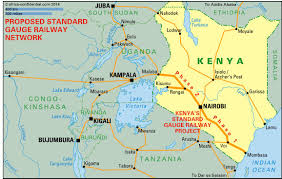 Kenya Map Africa by No Way To Run A Railway Article Africa Confidential