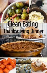 thanksgiving dinner recipes clean real food