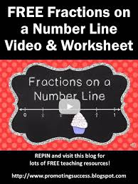 fractions on a number line 3rd grade tutorial for kids free