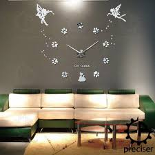 aliexpress com buy 25 u0027 u0027 40 u0027 u0027 large oversized diy 3d wall clock