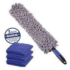 car duster with bonus microfiber cloth 3 pack u2013 busy life products