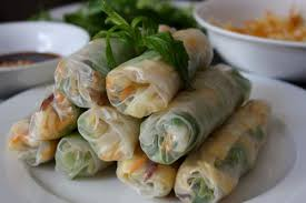 rice paper wrap bò bía rice paper rolls with jicama eggs and