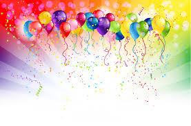 free balloons shiny color balloons vector 02 welovesolo
