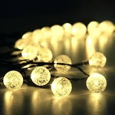 Solar String Lights For Gazebo by Short String Christmas Lights Amazoncom Innlight Led Globe String