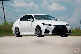 lexus vossen wheels white lexus gs f with vossen vps 301s wheels youtube