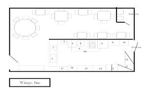 floor plan for a restaurant simple restaurant layout new sle floor plan of a bauapp co