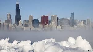 cascades ice niagara falls freezes bbc