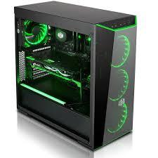 ordinateur de bureau gamer pas cher pc gamer cybertek green flare pc gamer pas cher ssd 240go