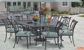 furniture fresh cast aluminum patio furniture design ideas top