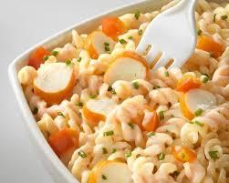 cuisiner le surimi salade de pâtes au surimi rapide cuisine az