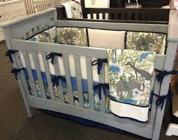 Baby Nursery Fabric Nursery Furniture Of Cribs With Crib Bumpers In Simple Desain Also