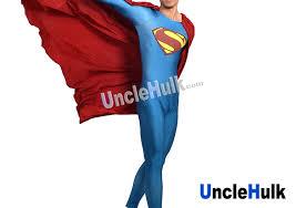 superman zentai costume 7 include cloak unclehulk com studio