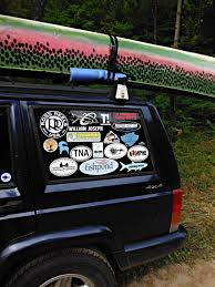 jeep family stickers how many is too many decals true north trout