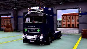 new volvo truck 2015 volvo fh16 2009 kelsa accessory interior anim gps ets 2 euro