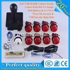 aliexpress com buy new usb mame cabinet arcade control panel kit