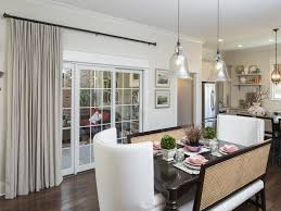 window treatments for sliding glass doors in kitchen day