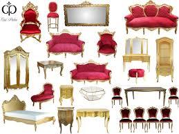 Barock Esszimmer Ebay Bordeaux Gold Kollektion Möbel Barock Luxus Möbel Sets