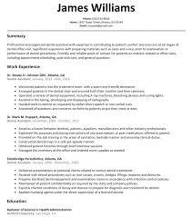 dental resume template template dentist resumes exles dental assistant resume sa