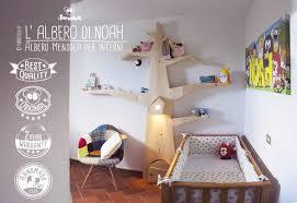 libreria per cameretta albero mensola per le camerette dei bambini
