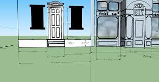 house measurements door on row house measurements back side u2013 art computers and stuff