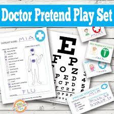 doctor pretend play free kids printables pretend play