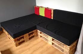 assise canape assise canapé en palette canapé palettes