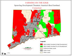 State Of Colorado Map by Farming On The Edge State Maps American Farmland Trust