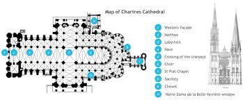 gothic cathedral floor plan chartres cathedral cathedrals and art history