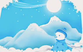 Cute Wallpapers For Kids Christmas Snowman Cartoon Drawings Template Images For Kids And